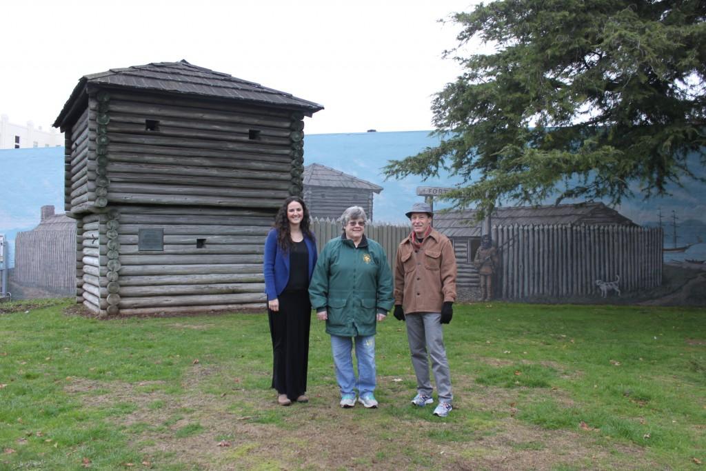 Angela, Rosemary & John