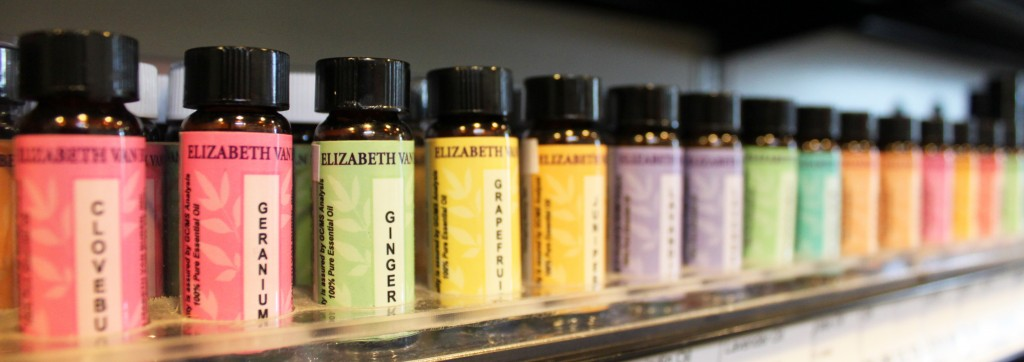 You can find many essential oils in the Co-op's wellness department.